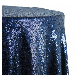 TC - Navy Blue Sequin 132